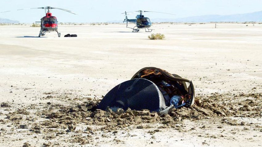 В пустыне Юты упал НЛО: НАСА опубликовало фото