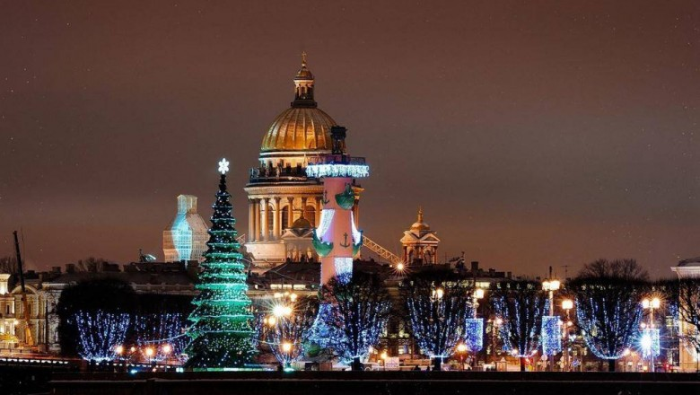 Программа мероприятий на Новый год 2019 в Санкт-Петербурге будет обширной и разнообразной
