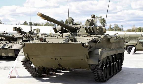 Новые БМП-3 опробованы российскими военными