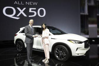 Пользователи портала AutoGuide.com назвали новый INFINITI QX50 лучшим премиальным SUV года