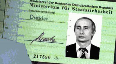 Bild сообщила об обнаружении удостоверения Штази на имя Путина