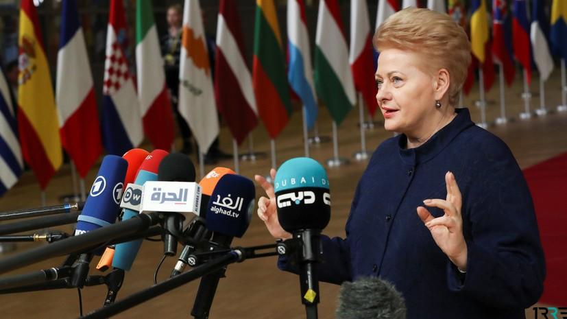 Литва ввела санкции против России по причине инцидента в Керченском проливе