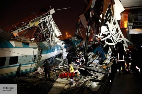 В Анкаре рассказали о причинах крушения поезда