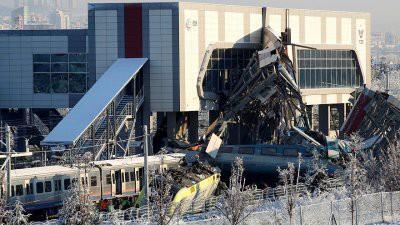 Число жертв авария поезда в Анкаре возросло до 7
