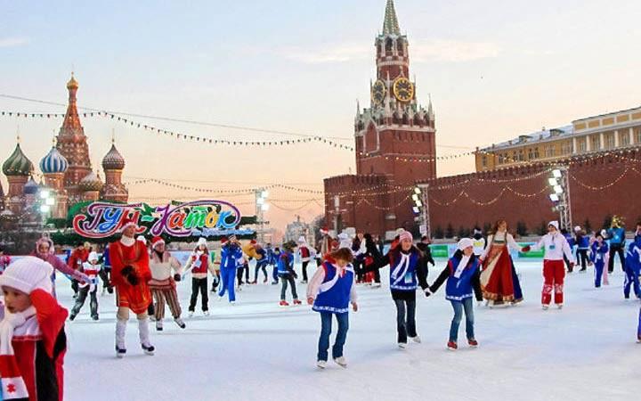 Полный список бесплатных катков в Москве 2018-2019