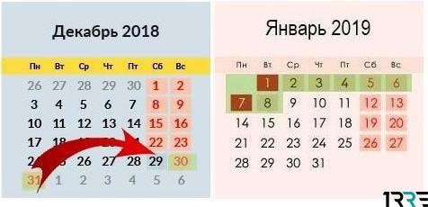 Суббота, 29 декабря 2018 года, в России будет сокращенным рабочим днем