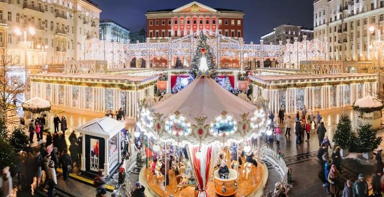 Сказочная атмосфера зимнего праздника ждет на фестивале Ярмарки Путешествий в Москве в 2019 году