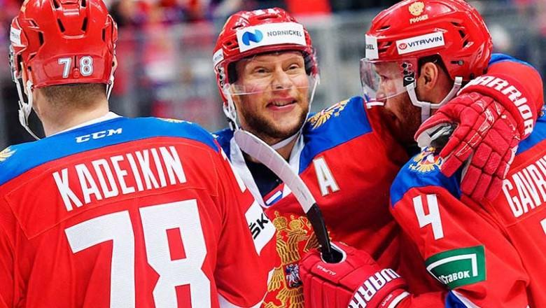 Сборная России одержала волевую победу по буллитам над Швецией в хоккейном турнире