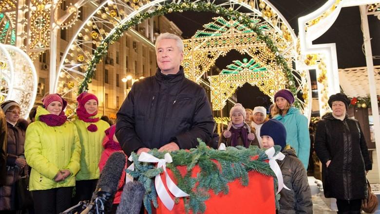 Праздник «Удивительные елки» на Тверской площади состоится 15 декабря 2018 года
