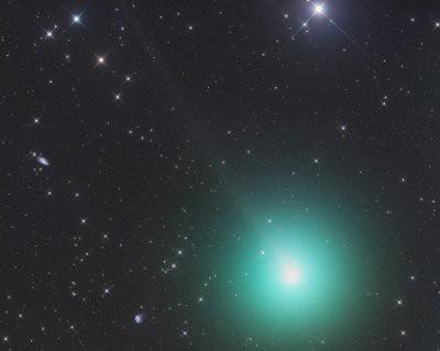 Сегодня с Землей сблизится «зеленая» комета