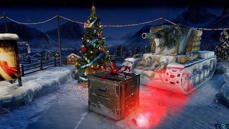 Новогоднее наступление 2019 стартовало в World of Tanks 13 декабря 2018 года
