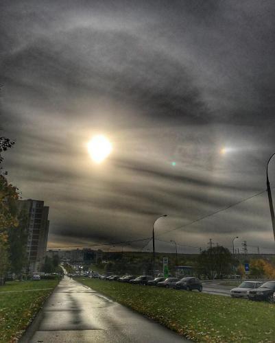 За день до конца света 16 декабря планета Нибиру попала на камеру
