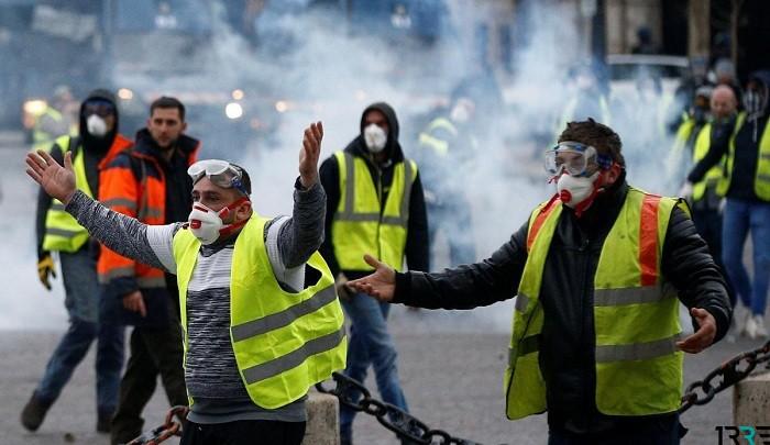 Желтые жилеты начали протестовать в Израиле