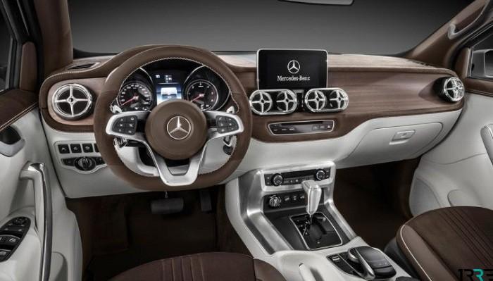 Пикап Mercedes-Benz X-Class можно приобрести примерно за 3 млн рублей