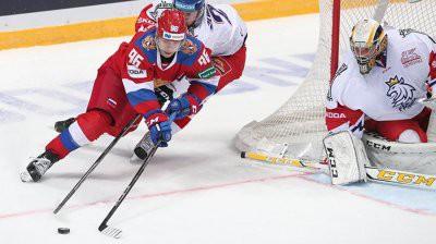 Сборная России разгромила сборную Чехию в матче на Кубок Первого канала