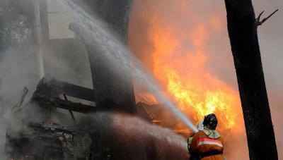 При пожаре в подмосковном общежитии погибли два человека
