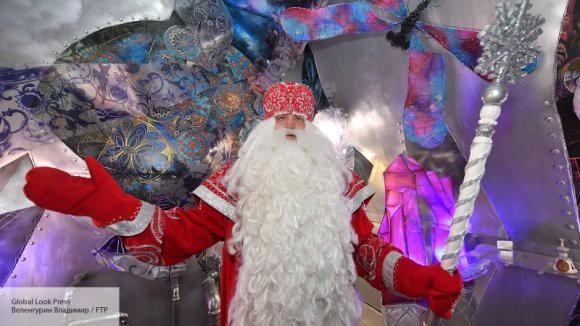 Дед Мороз встретит болельщиков перед хоккейным матчем на Крестовском