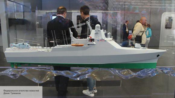 ВМФ России примет на вооружение патрульный корабль новейшей разработки