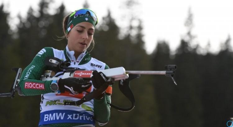 Биатлон результаты женской эстафеты от 16.12.2018, кто победил, смотреть видео гонки