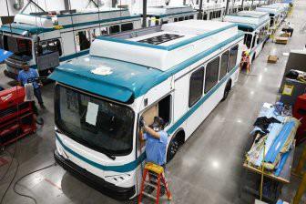 Калифорния перейдет исключительно на электрические автобусы к 2040 году