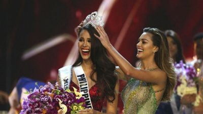 Представительница Филиппин Катриона Грэй стала «Мисс Вселенная»