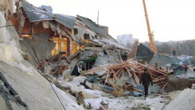 В Дзержинске при обрушении крыши погибли люди