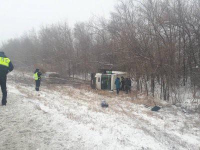 Число пострадавших в ДТП с микроавтобусом в Дагестане увеличилось до 13