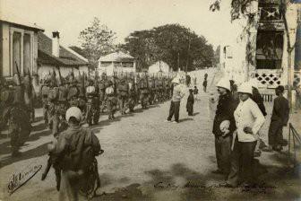 Русские солдаты в Индокитае