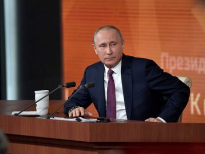 Ежегодная большая пресс-конференция Владимира Путина состоится 20 декабря