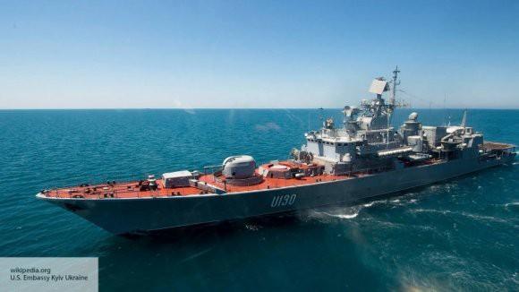 Первый корабль НАТО прибыл на Украину после инцидента в Керченском проливе