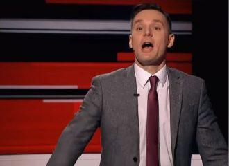 Владимир Соловьев во время эфира угрожал польскому журналисту ударом «по башке»