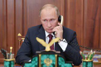 Песков пояснил, почему у Путина нет мобильного телефона