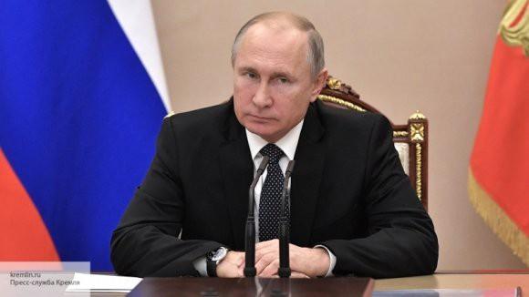 Путин оценил промышленный рост в России