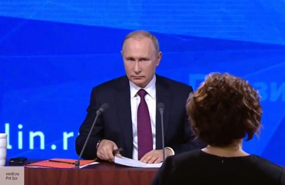Путин на пресс-конференции ответил на вопрос о повышении НДС и налоге для самозанятых