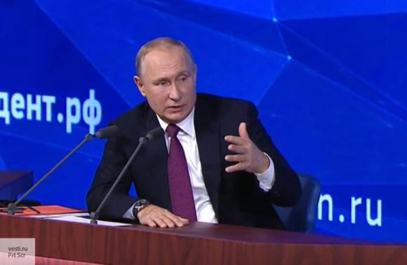Путин указал на политические противоречия в позиции Запада по Крыму