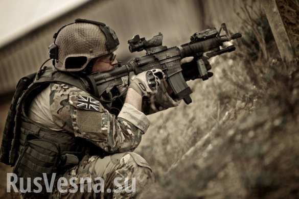 Дело идёт к войне — британский спецназ SAS прибыл под Горловку