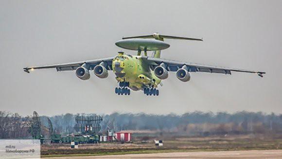 Самолет-радар А-100 совершил испытательный полет