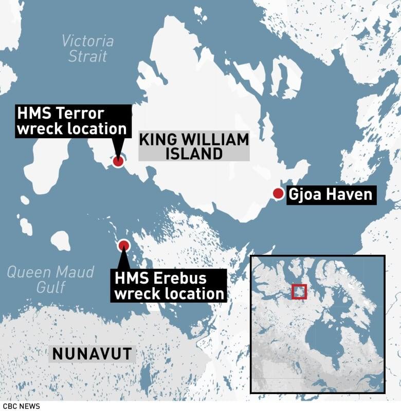 Инуиты говорят, что ученые пробудили проклятие затонувших кораблей Франклина