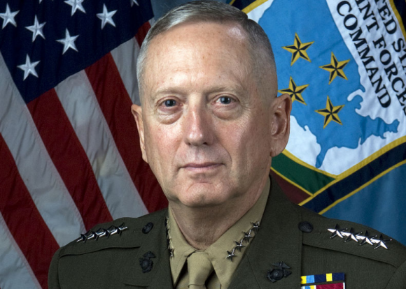 Трамп сообщил об отставке главы Пентагона Джеймса Мэттиса