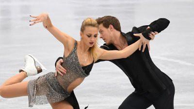 Синицина и Кацалапов выиграли короткую программу в танцах на ЧР