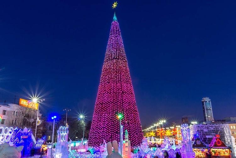 Новый год 2019 в Екатеринбурге - программа мероприятий, куда сходить, афиша