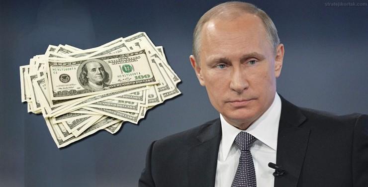 Запрет долларов в России категорически отверг Путин
