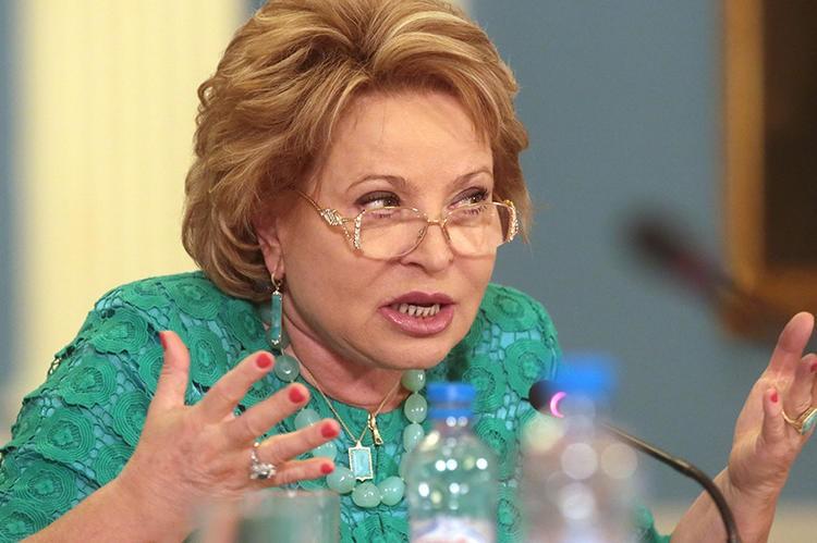 Валентина Матвиенко отучит чиновников врать