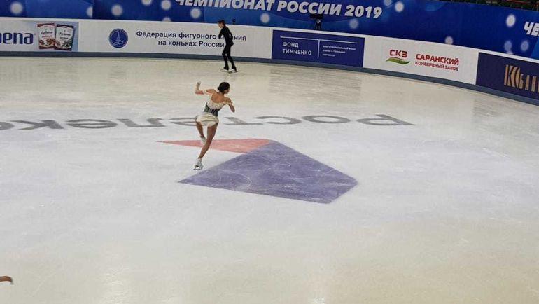 Евгения Медведева, Алина Загитова, фигурное катание чемпионат России