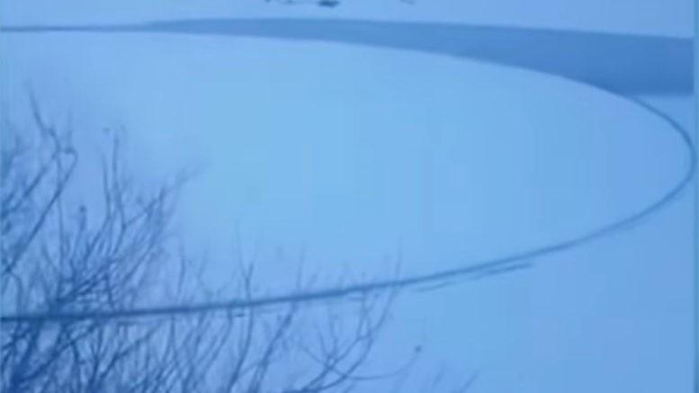 В Белоруссии запечатлели редчайшее природное явление