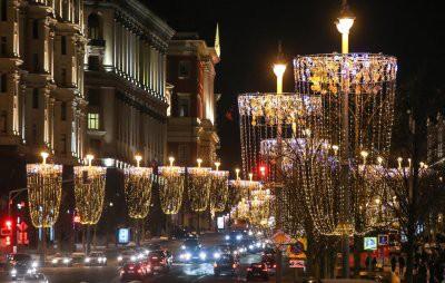 Названо лучшее место, где можно встретить Новый год 2019 в Москве на улице