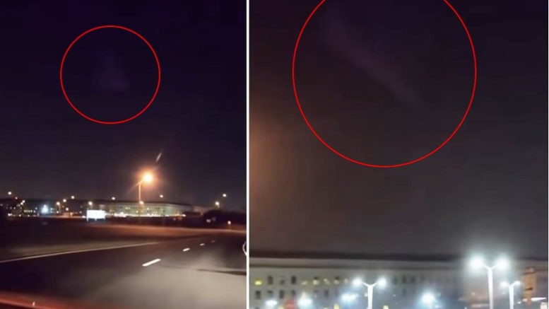 Пришельцы уже здесь: над Пентагоном завис корабль инопланетян