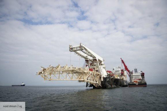 В Финляндии начались работы по укладке трубопровода «Северный поток - 2»