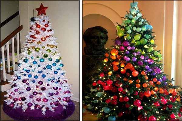 Украсить новогоднюю ёлку 2019: примеры дизайна ёлки на Новый год, игрушки на ёлку своими руками простые