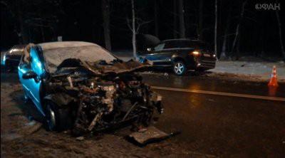 В ДТП на Киевском шоссе в Москве пострадали шесть человек